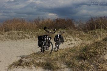 Gesperrter Küstenradweg E9