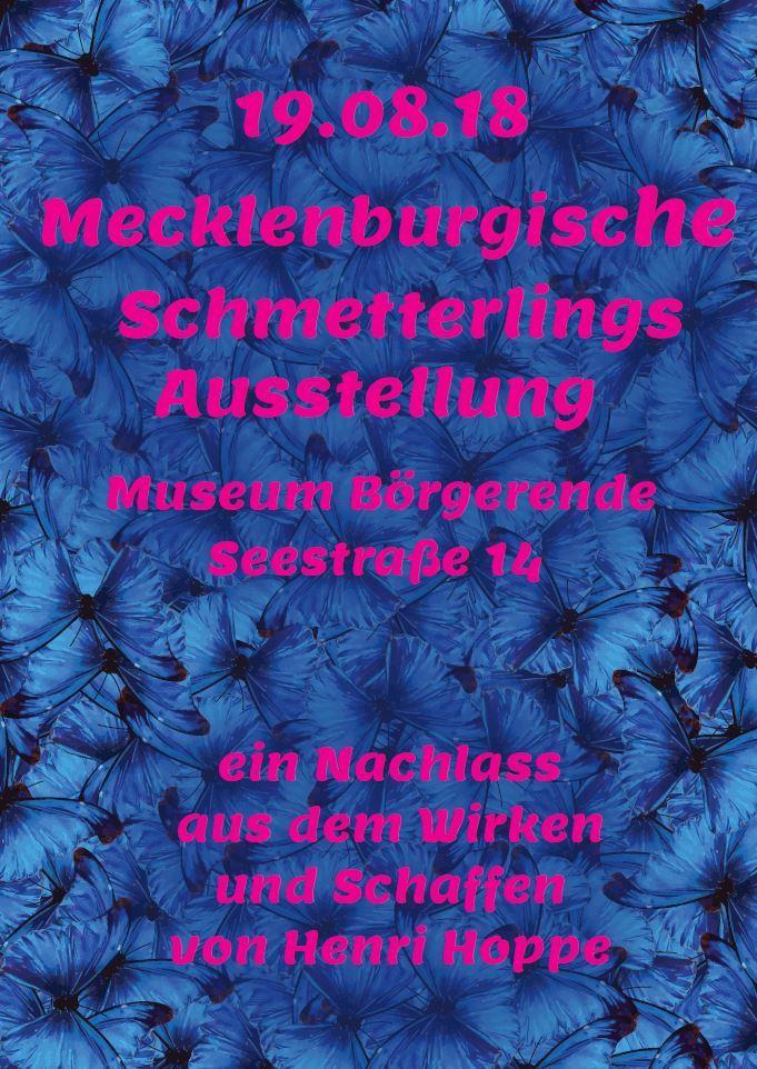 Mecklenburgische Schmetterlings Ausstellung