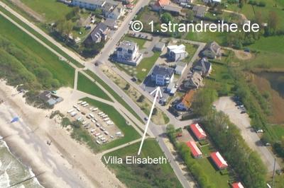 Ferienwohnung Villa Elisabeth, OG-Ferienwohnung Meeresblick